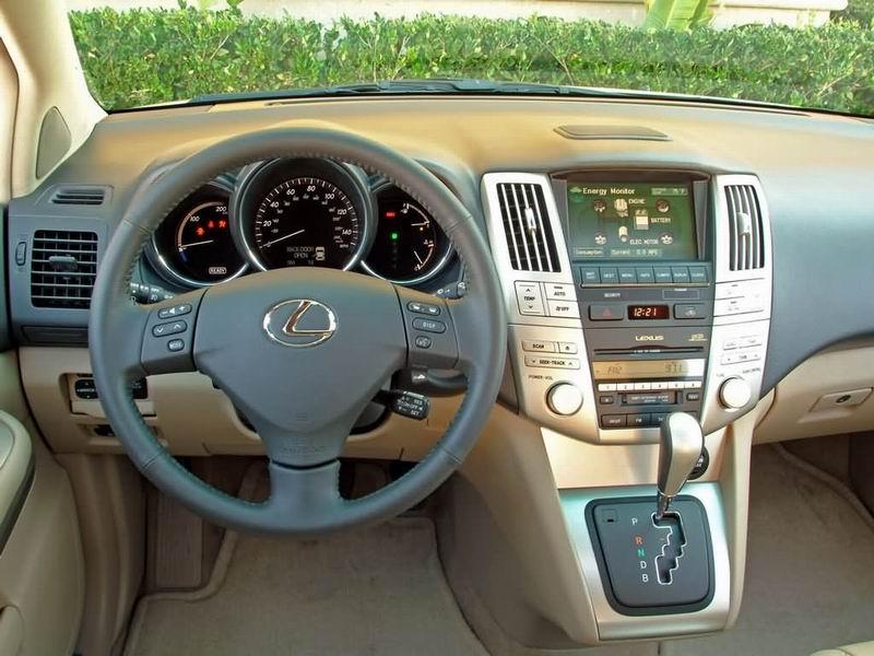 雷克萨斯油电混合动力SUV RX400h上市 售81万高清图片