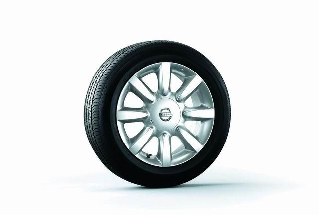 天籁(TEANA)的车轮和轮胎