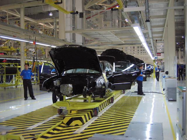北京奔驰新厂图片