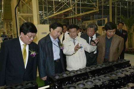 从2002年10月18日成立到现在,北京现代完成从5万辆到15万辆年产高清图片