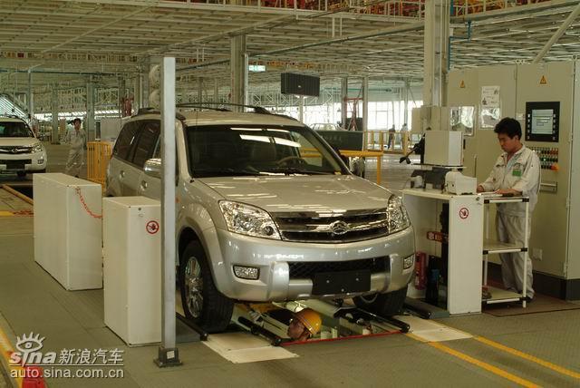 长城汽车生产基地高清图片