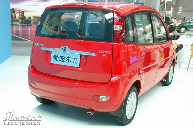 和主力车型参加了本届车展.图为昌河汽车爱迪尔ii车型图片.高清图片