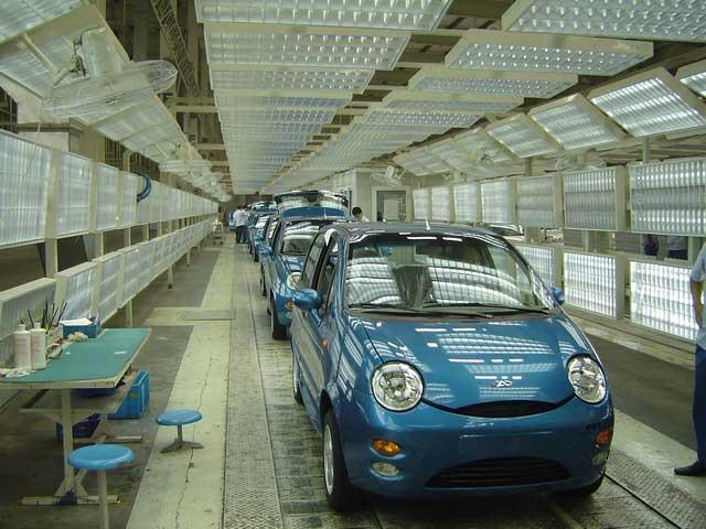 汽车 销量/奇瑞汽车工厂