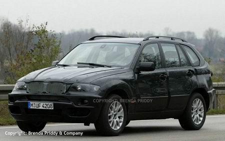 2007年新款宝马X5高清图片