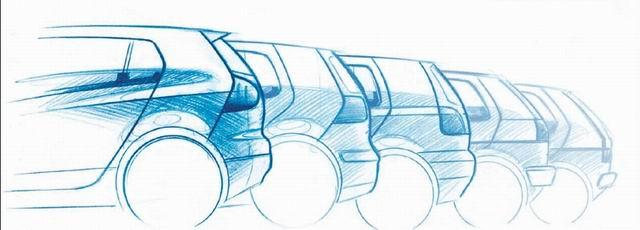 汽车设计图(1)[36p]; 原厂汽车设计手稿欣赏——大众,吉普