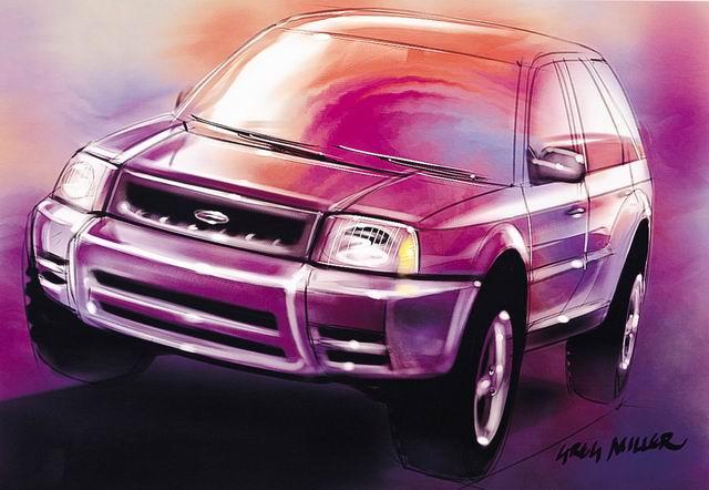 福特原厂手绘设计图_图片_新浪汽车