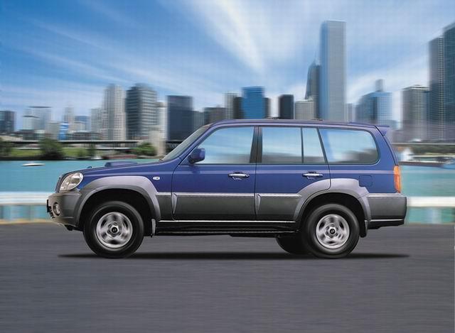 华泰特拉卡是现代旗舰在2001年推出的新一代越野车汽车,是一款高品质ds52014年销量图片