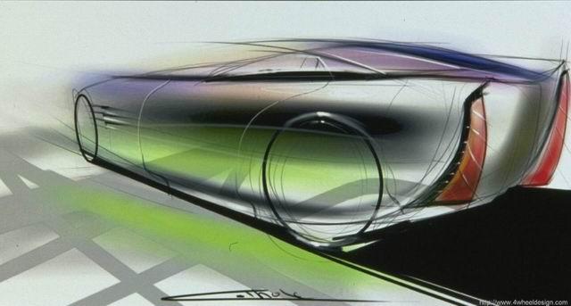 凯迪拉克原厂手绘设计图_图片_新浪汽车