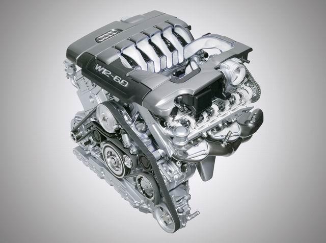 W12发动机