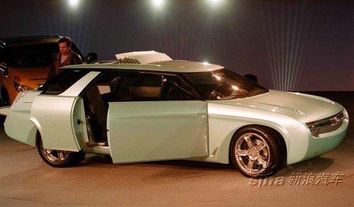 雪佛兰nomad概念车