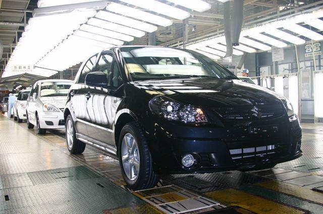 铃木汽车工厂高清图片