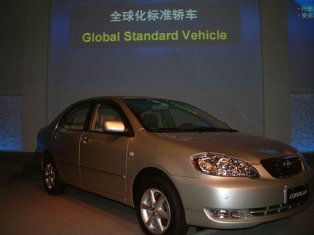 轿车是丰田系列车型中全球销量最大的单品牌汽车,丰田在天津生产高清图片