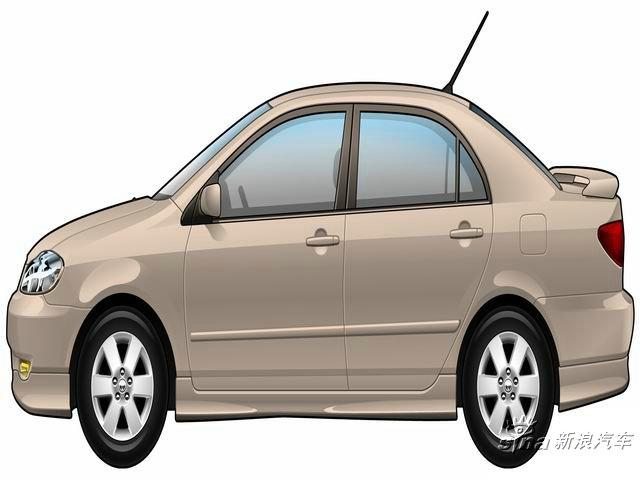 花冠(Corolla)平面设计
