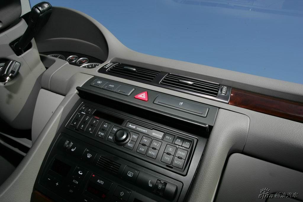 图为奥迪A6 2.5 TDI柴油轿车壁纸.TDI:涡轮增压直喷柴油发动机.-高清图片
