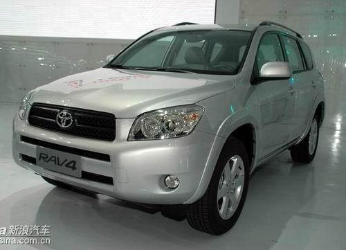 新款丰田PREVIA RAV4登陆中国售31.88万元起