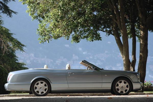 宾利的全新旗舰车型雅骏敞篷轿车(New Azure)-宾利新车上市 雅骏