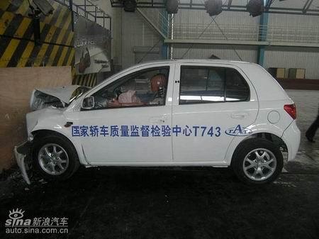 小威大志 新浪试驾天津一汽威志轿车 5高清图片