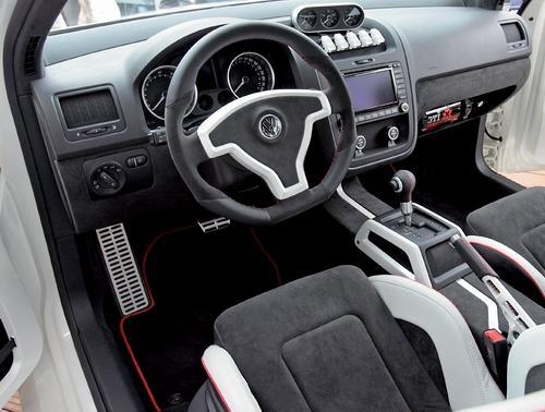 追求极限 大众推出golf gti w12 650概念车