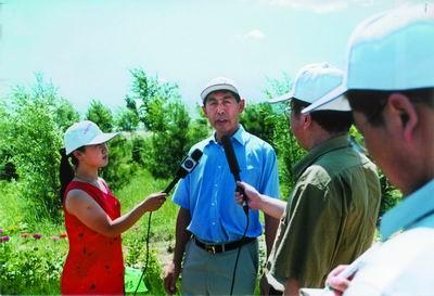 中信黄羊滩治沙绿色工程(2)