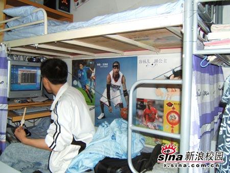 组图:北京体育大学男生宿舍(2)