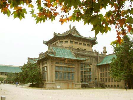 图文 校园秋色大比拼 武汉大学图片