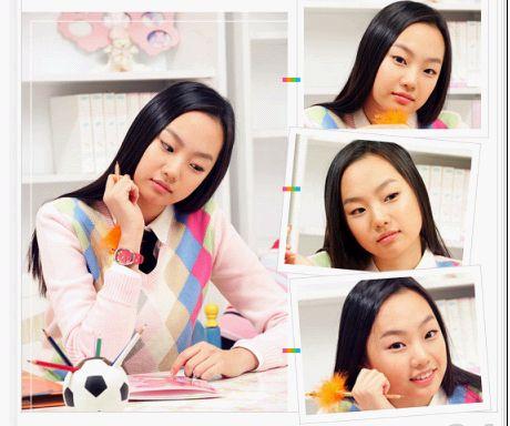 组图:2005韩国学生穿的可爱校服