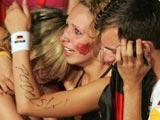 德国球迷痛哭失声