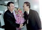 图文-袁伟民率领中国代表团凯旋