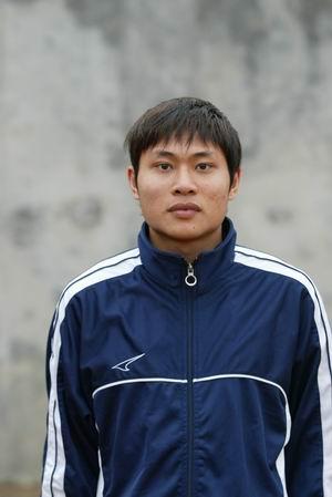 资料图片-05中甲广州日之泉队队员照片前卫曹志杰