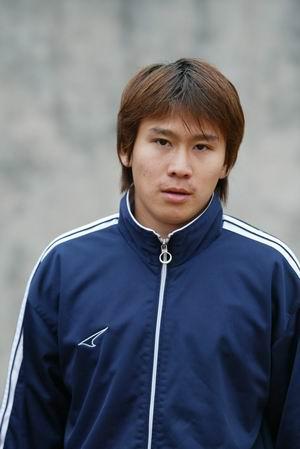 资料图片-05中甲广州日之泉队队员照片前卫贺毅辉