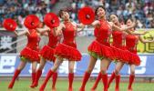 图文-中甲开幕式尽显江南风情优美舞姿中透青春活力