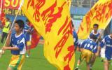 图文-广州主场3-1胜南昌小球员中场登场助兴