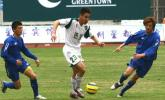 图文-绿城主场3-1胜山西队程谋义遭遇夹击