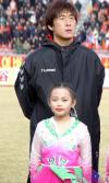 图文-延边1-0有有获首胜朝鲜族小姑娘助阵曲圣卿