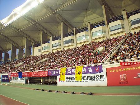 图文-[中甲]建业2-0上海康博河南已成金牌球市