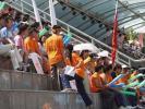 图文-[中甲]爱国者主场1-4八一大学生冒酷暑观战