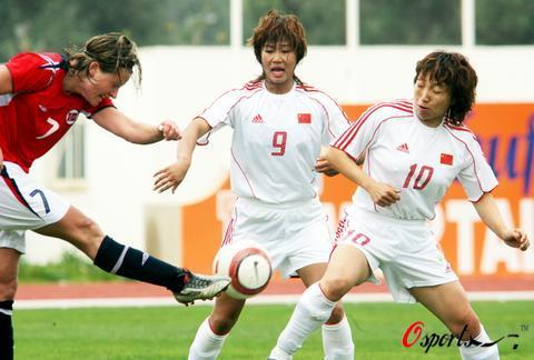阿杯-孙雯替补出场错失单刀中国0-1负挪威获第六
