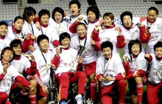 女足亚洲杯-中国点球6-4澳洲7年后重回亚洲巅峰