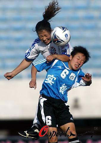图文-女超第2轮天津1比0胜大连汇森女将泰山压顶