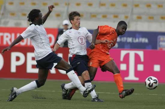 图文-[世少赛]荷兰2-0胜美国萨尔彭勇不可挡