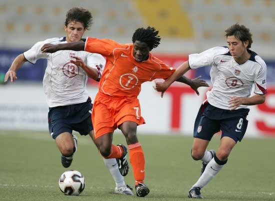 图文-[世少赛]荷兰2-0胜美国扎尔曼以一敌二