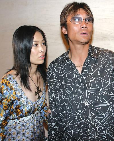 图文-中国球星与妻子高峰与那英一对恩怨夫妻