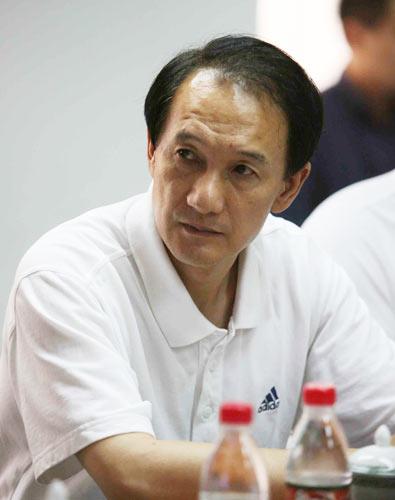 图文-女足世界杯筹备会谢亚龙担任执行主席之职