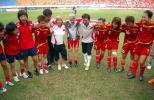 图文-[热身赛]中国5-2韩国三连胜团结就是力量!