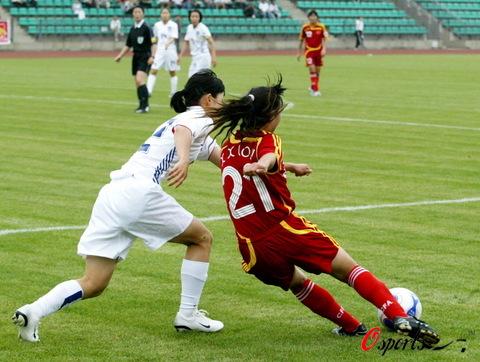 图文-[教学赛]中国女足2-0胜韩国宋晓丽表现抢眼