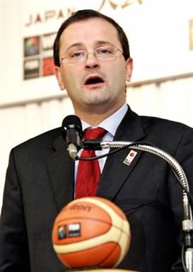 图文-2006男篮世锦赛吉祥物揭晓鲍曼:与世界杯争辉