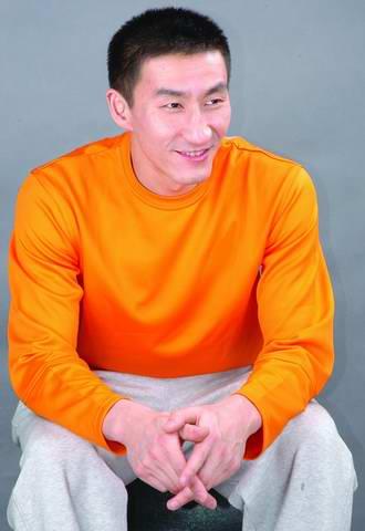 中国男篮后卫张云松写真集笑容灿烂