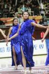 图文-[CBA]篮球宝贝赛场大变身气质美女秀猫步