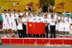 亚运男篮中国队摘金