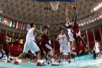 图文-男篮决赛中国59-44卡塔尔休想轻松得分